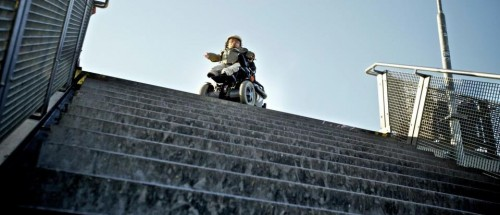 Raul vor Treppe