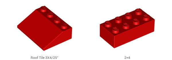 LEGO-Dachziegel
