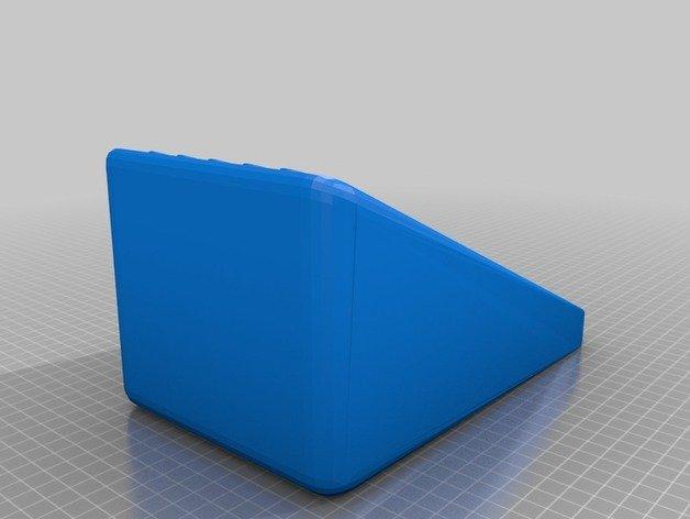 3D-Modell der Rampe