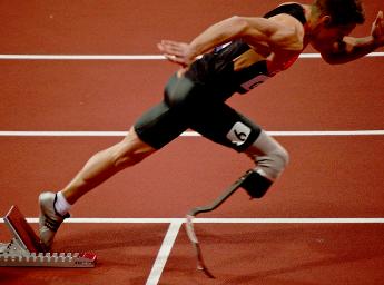 Sportler Markus Rehm: Nur über die Prothese definiert