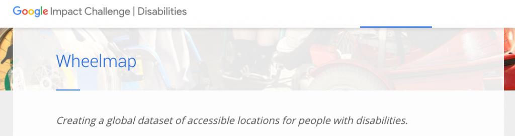 Google.org Disability Impact Challenge