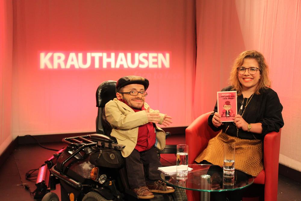 KRAUTHAUSEN – face to face: Ninia LaGrande, Poetry Slammerin