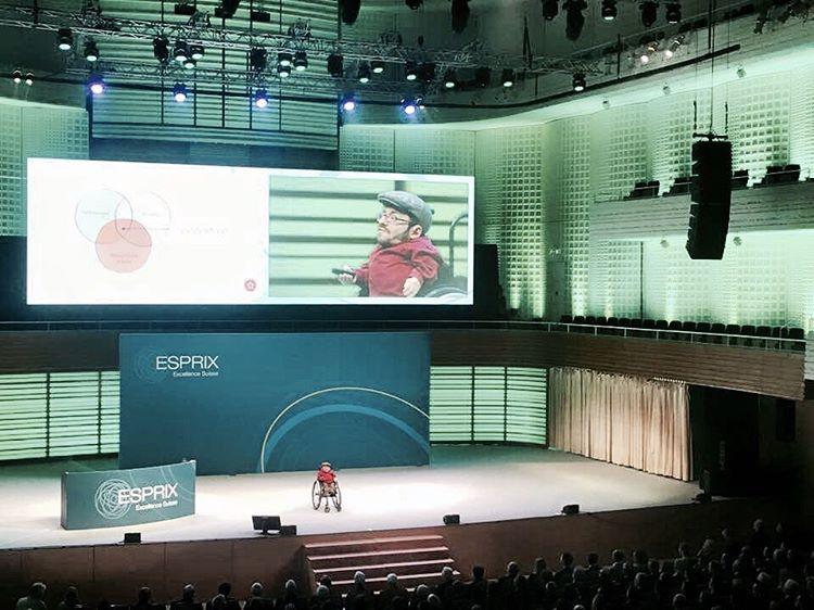Vortrag beim ESPRIX Forum 2016