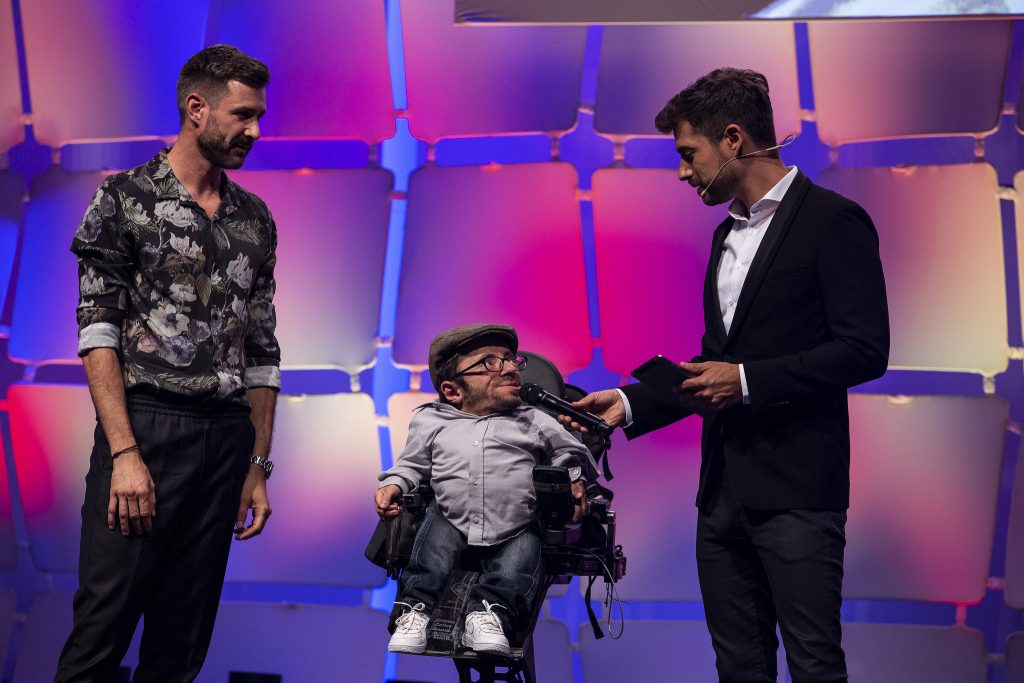 Dankesrede beim Grimme Online Award 2018