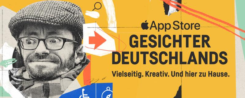 """Apple feiert: """"Die Gesichter Deutschlands"""""""