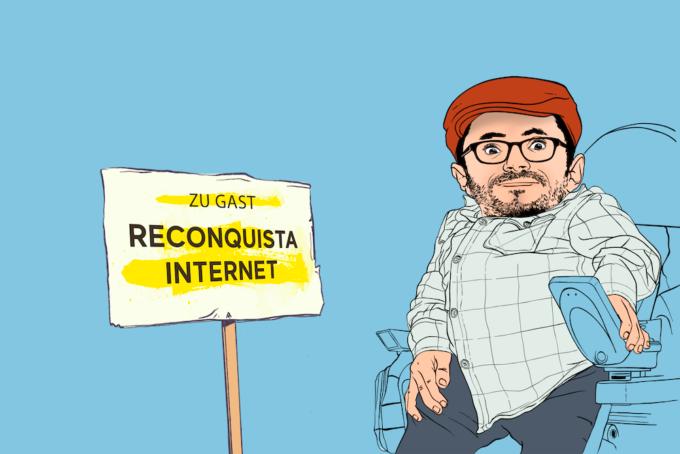 """Podcast: """"Wie kann ich was bewegen?"""" – Folge 3: Mit Reconquista Internet"""