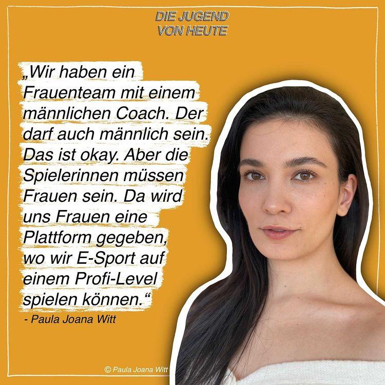"""Podcast: """"Die Jugend von heute"""" – Folge 3: Mit Paula Joana Witt"""
