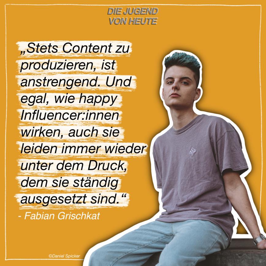 """Podcast: """"Die Jugend von heute"""" – Folge 2: Mit Fabian Grischkat"""